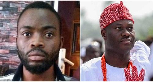 Police Arrests Yahoo Boy Who Impersonates Ooni of Ife , Dupes Two U.S Ladies of N600k