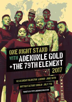 Adekunle Gold -- The 79th Element