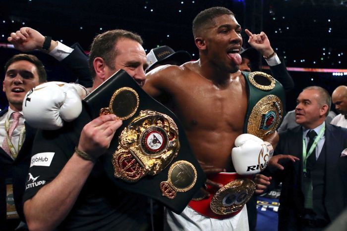 Birth of New Era : Anthony Joshua Speaks on His Victorious Win Over Wladimir Klitschko & His Plans Before His Next Fight