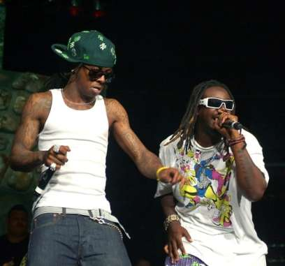 Lil Wayne and T-pain