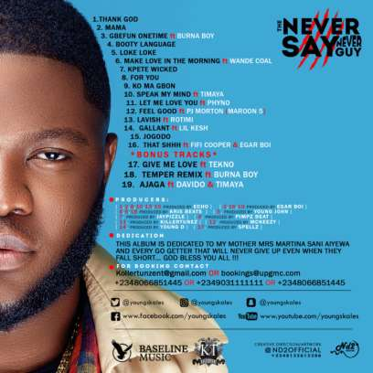 Skales The Never Say Never Guy Album 00