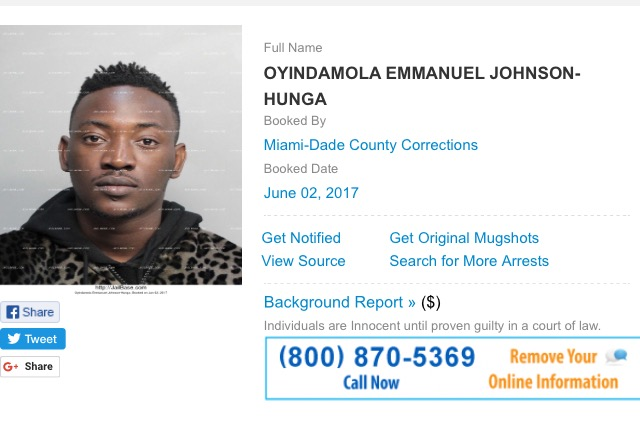 Dammy Krane Arrests in US 00