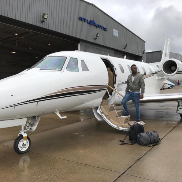 Dammy Krane in Private Jets