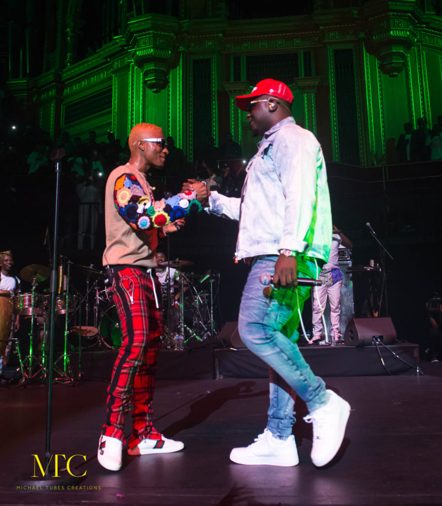 Wizkid Mades Histroy at Royal Albert Hall in London 00