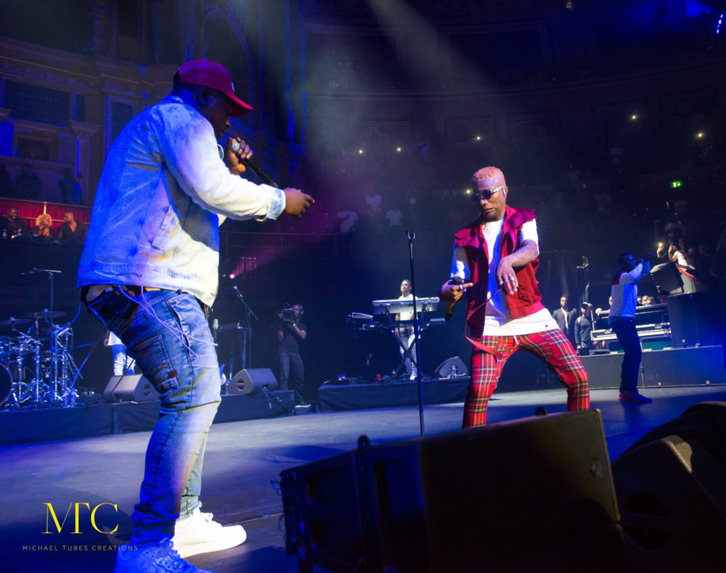 Wizkid Mades Histroy at Royal Albert Hall in London 01