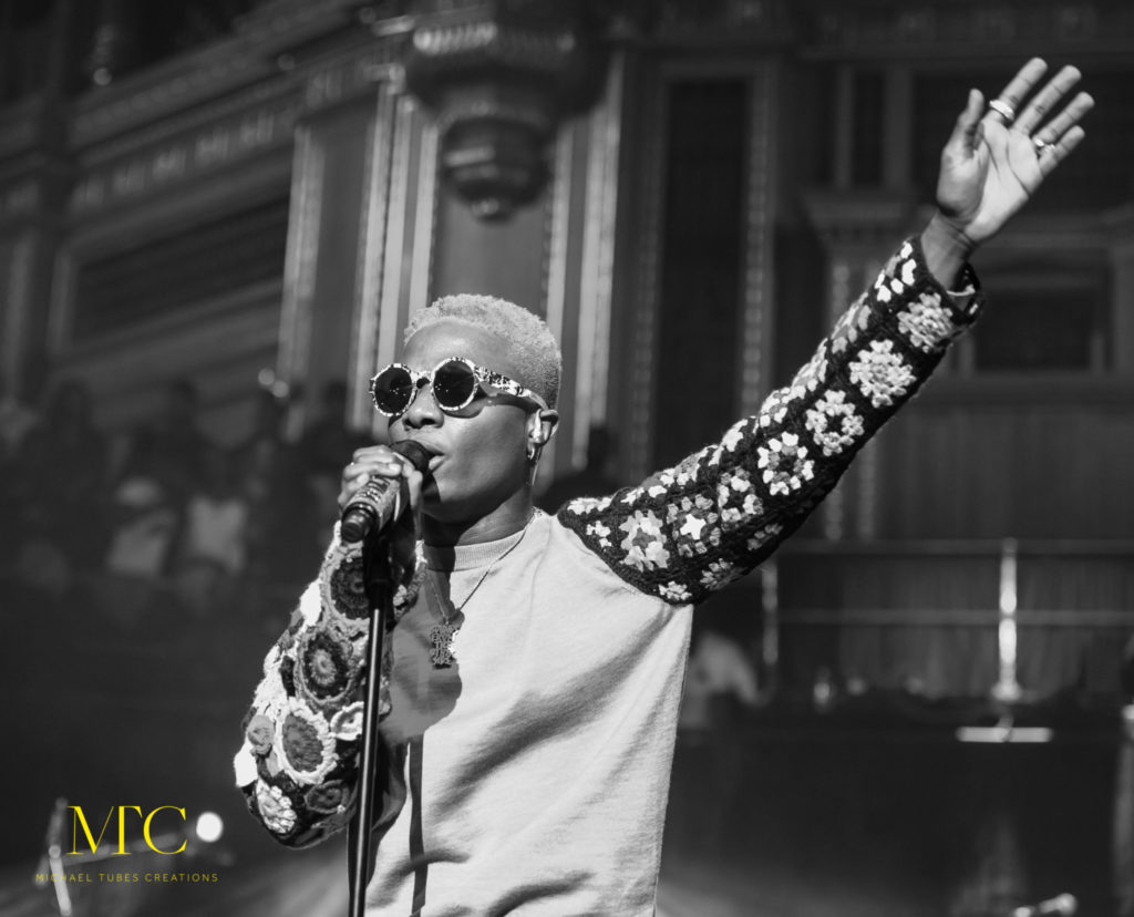 Wizkid Mades Histroy at Royal Albert Hall in London 03