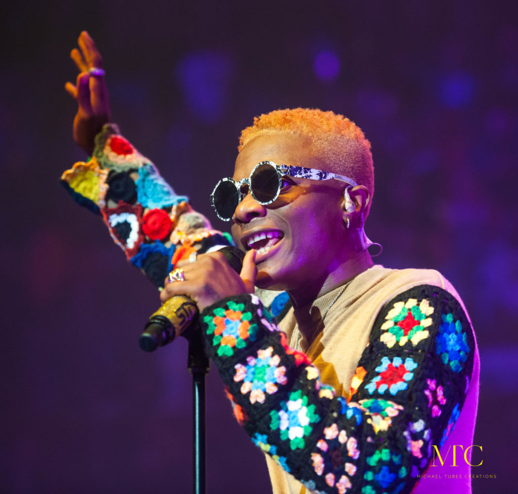 Wizkid Mades Histroy at Royal Albert Hall in London 06
