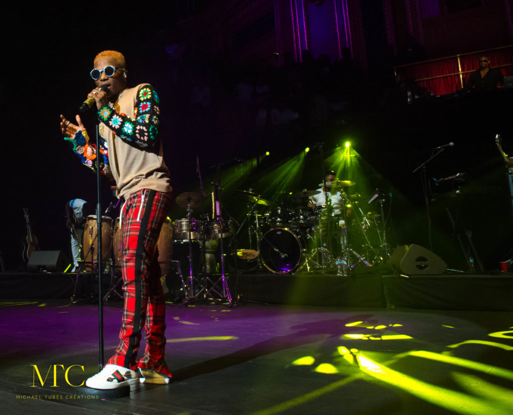 Wizkid Mades Histroy at Royal Albert Hall in London 08