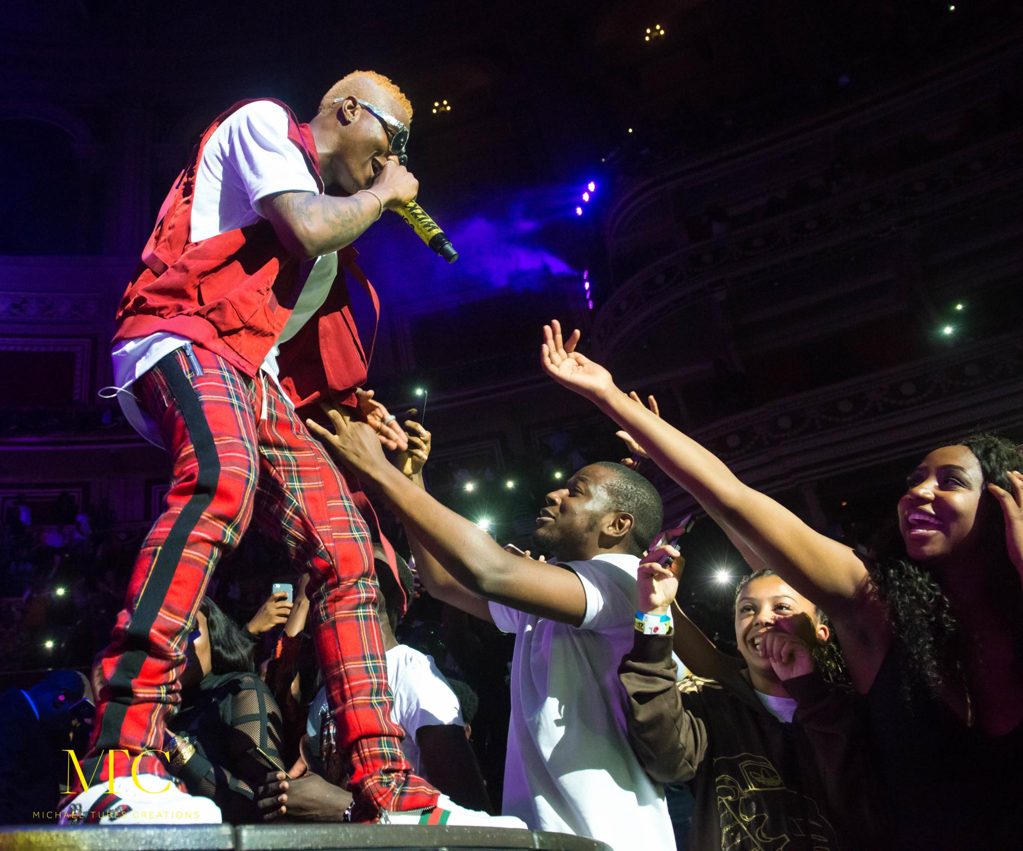 Beef Alert! Wizkid Throws Shade at Davido at His London Concert