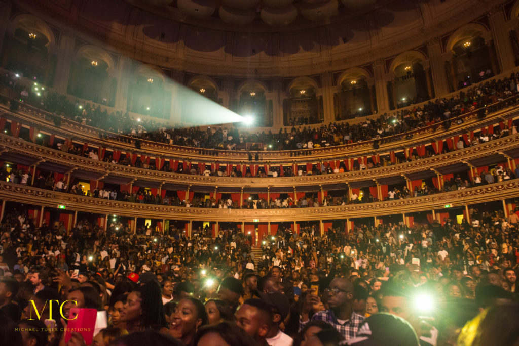 Wizkid Mades Histroy at Royal Albert Hall in London 19