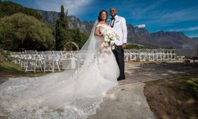 Banky W & Adesua Etomi White Wedding Pictures 10
