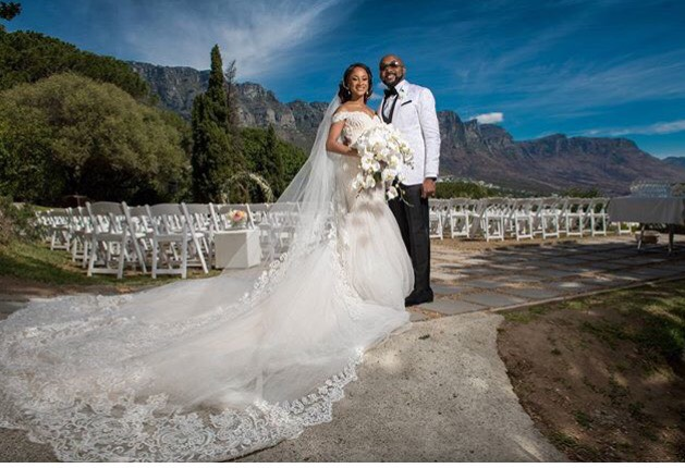 Banky W & Adesua Etomi White Wedding Pictures 10