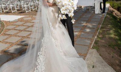 Banky W & Adesua Etomi White Wedding Pictures 12