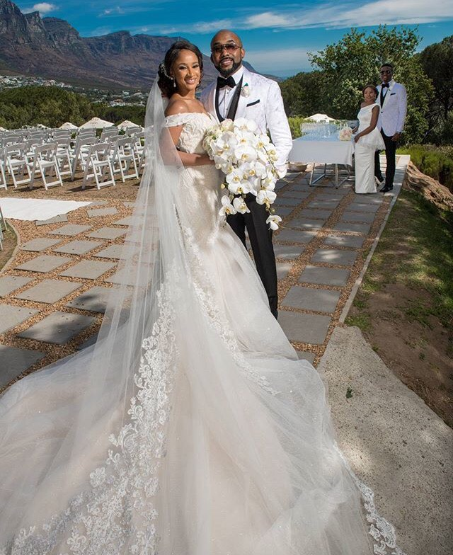 Banky W & Adesua Etomi White Wedding Pictures 12