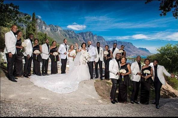 Banky W White Wedding in SA 04
