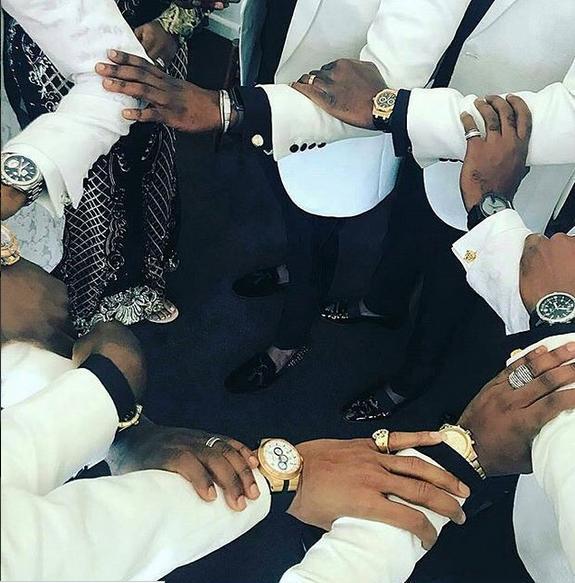 Banky W White Wedding in SA 07