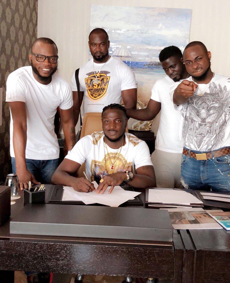 Music Entrepreneur Davido Signed New Artist to DMW Label