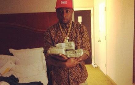 Davido with Money