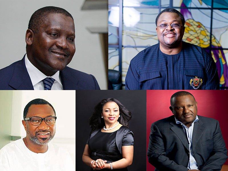 Top 10 Richest In Nigeria 2017
