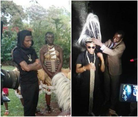 Wizkid Honoured With A Chieftaincy Title in Uganda