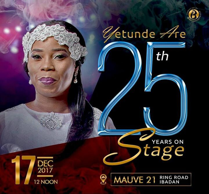 Yetunde Are 25 Years On Stage 00