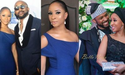 Banky W and Adesua Wellington