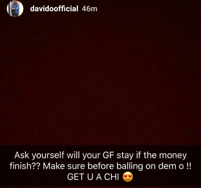 Davido If I Goes Broke