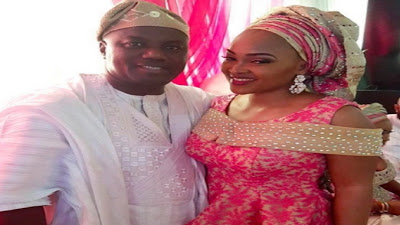 Mercy Aigbe and Her Husband