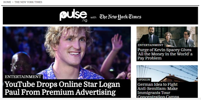 Pulse Signs with The New York Times