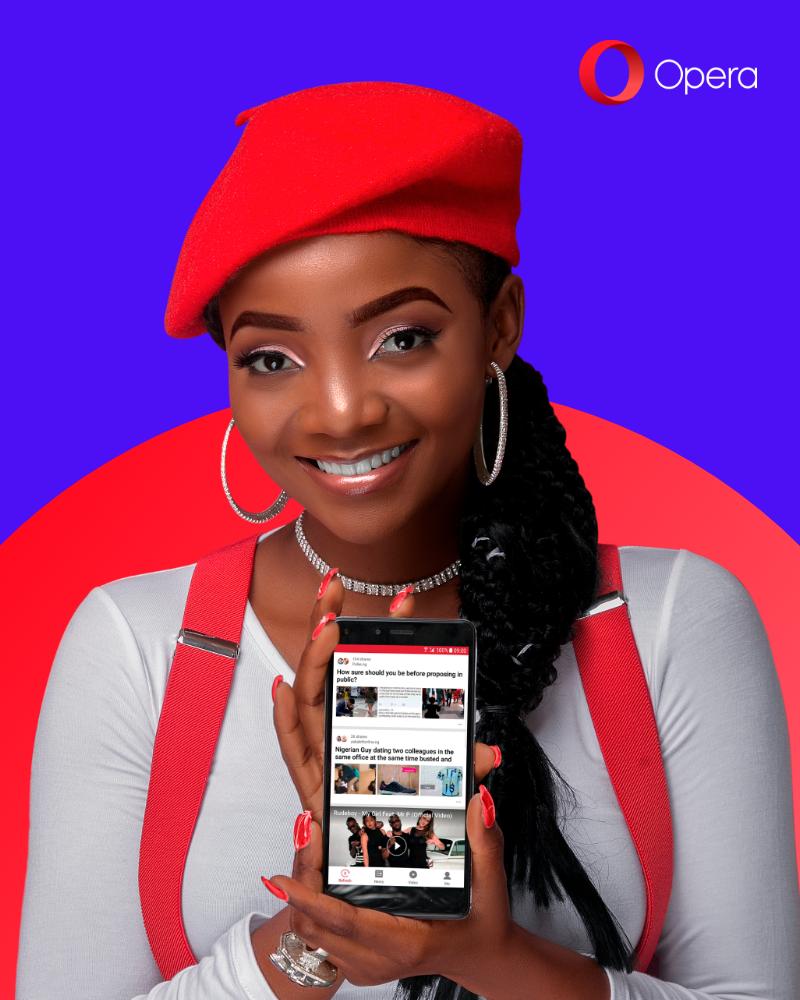 Simi Announced As Brand Ambassador For Opera In Nigeria 00