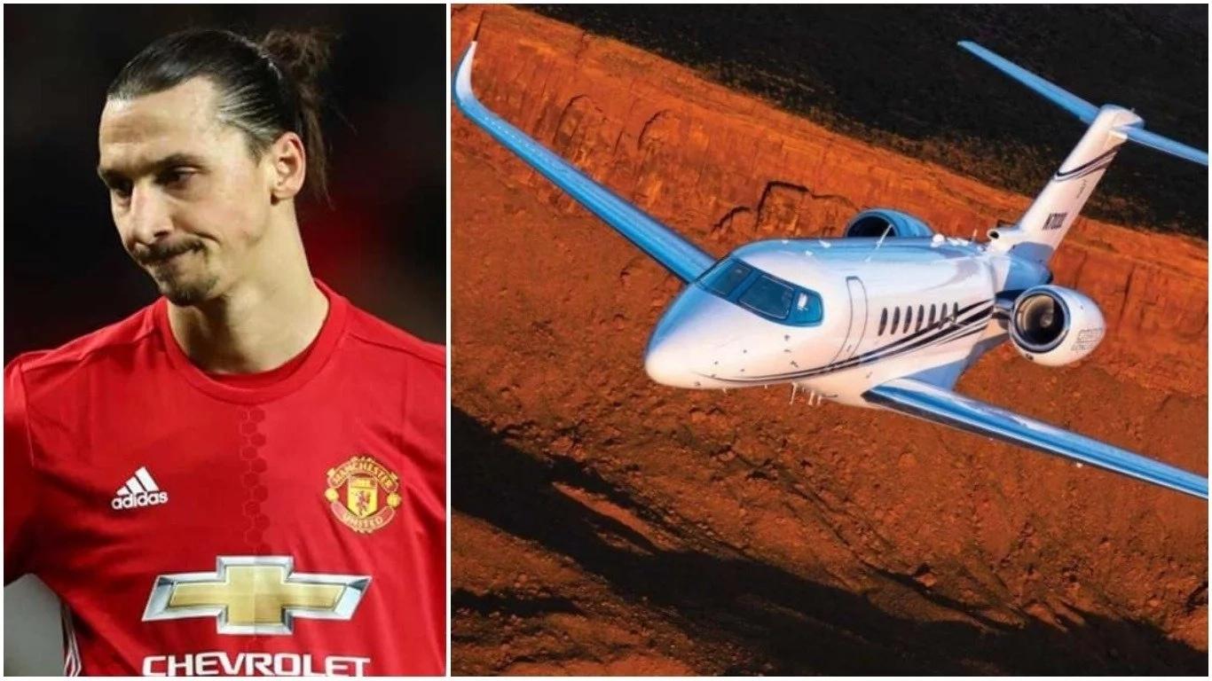 Zlatan Ibrahimovic Private Jet