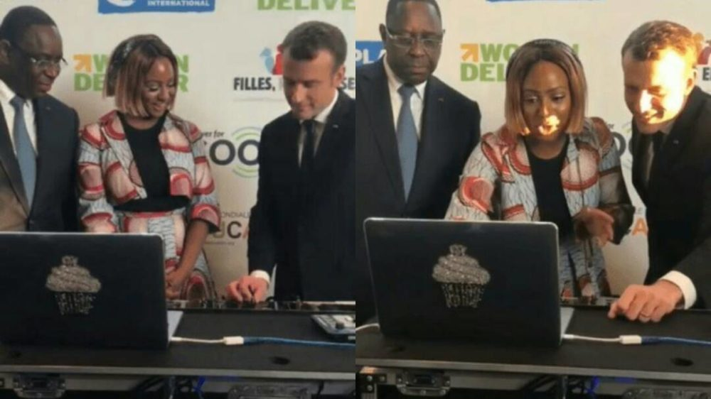 DJ Cuppy Teach France and Senegal President How To DJ