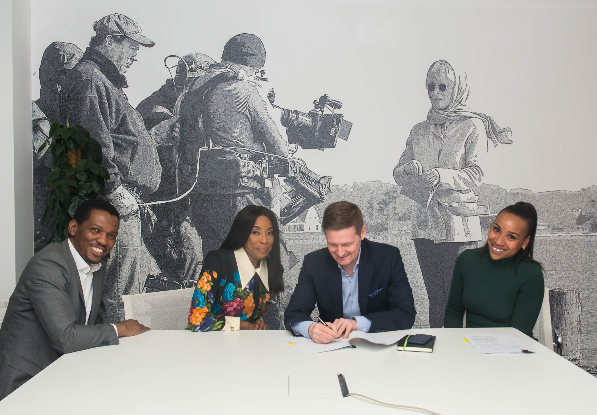 Mo Abudu Signed Contract With Sony Pictures Entertainment 01
