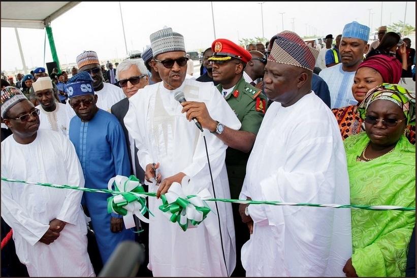 President Buhari In Lagos