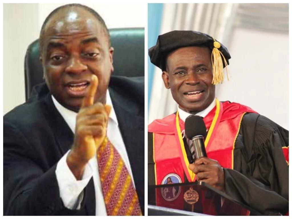 Bishop Oyedepoe and Bishop Adjeman
