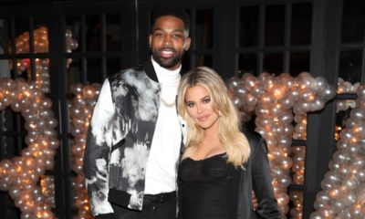 Khloé Kardashian and Tristan Thompson 00