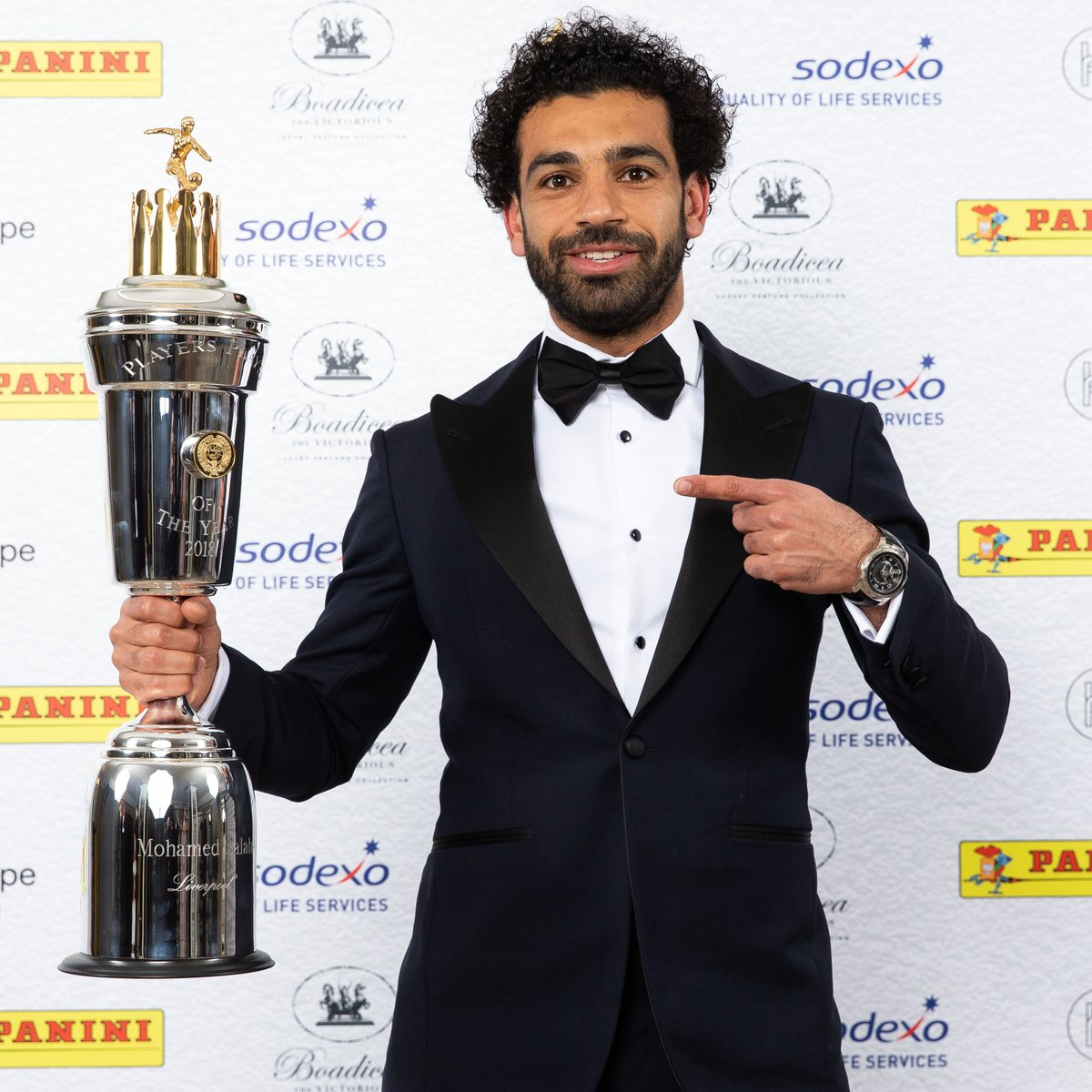 Mohammed Salah Wins PFA Player of The Year