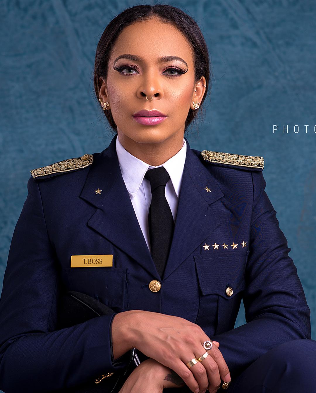 TBoss Wears Pilot Uniform 02