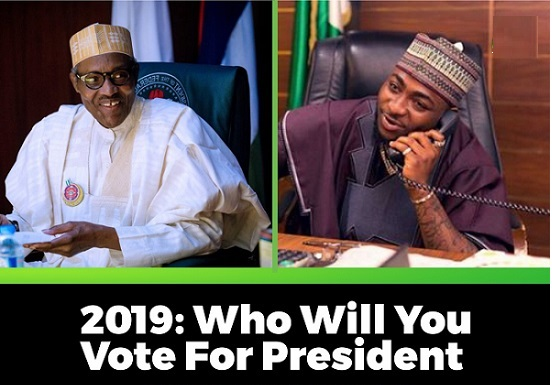 Buhari and Davido