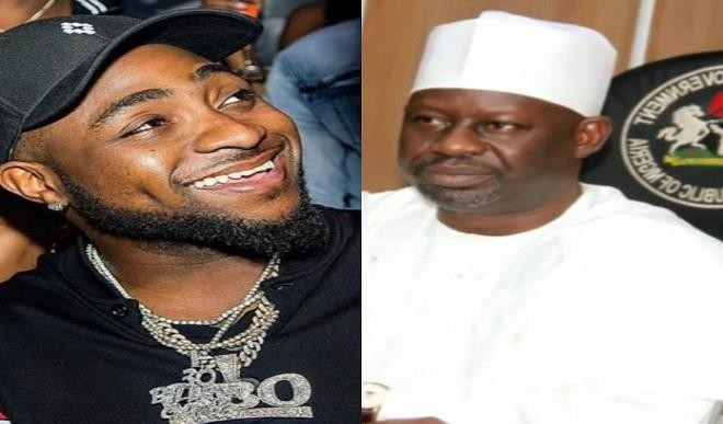 Ibrahim Dankwambo and Davido