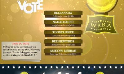 West Africa Bloggers Award 2018