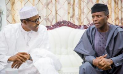 Buhari and Yemi Osinbajo