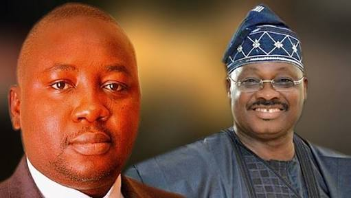 Abiola Ajimobi and Bayo Adelabu