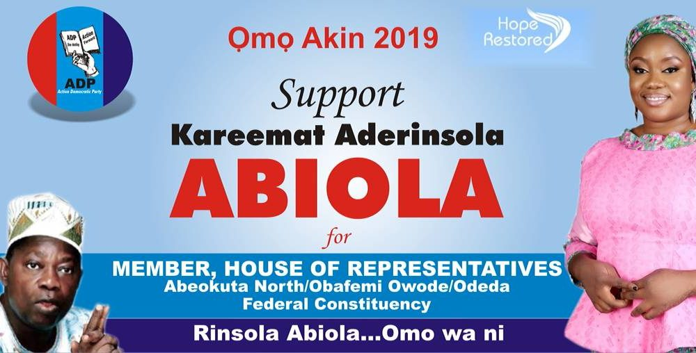 Rinsola Abiola to Federal House In Ogun 00