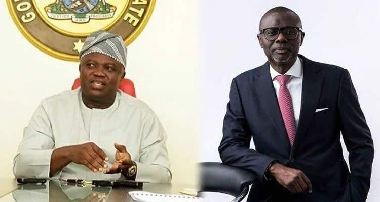 Ambode and Sanwo-Olu
