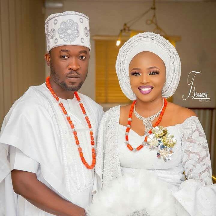 Biola and Gbemi Weds In Ibadan 13