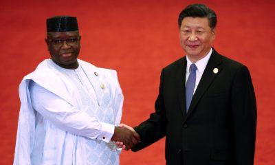 Julius Maada Bio and China President