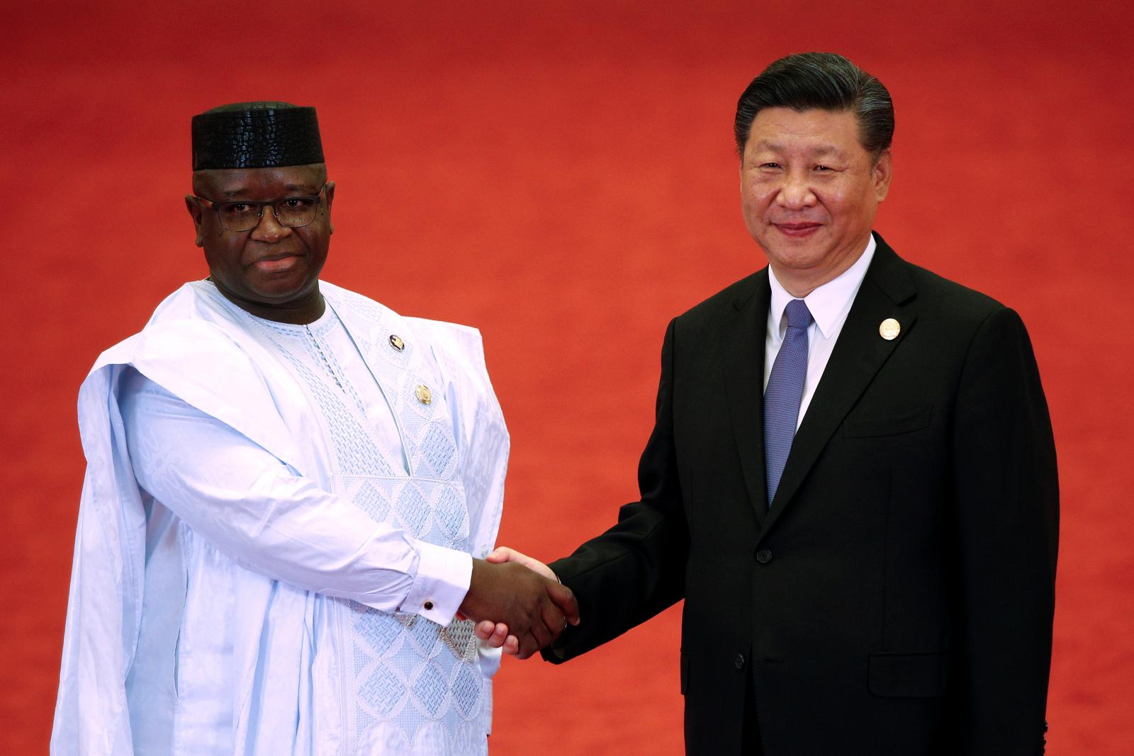 Julius Maada Bio and China President