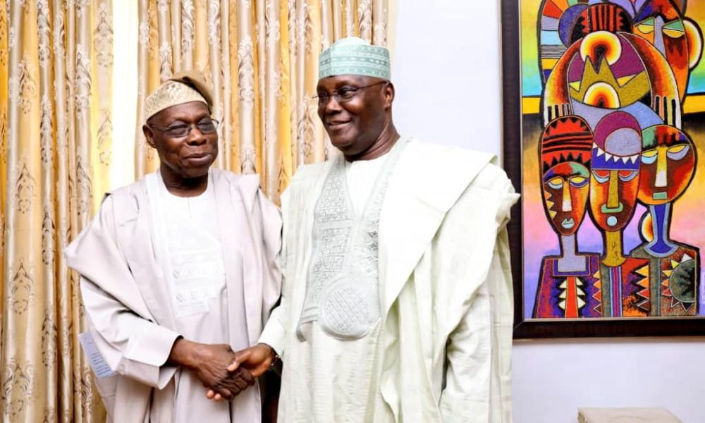 Obasanjo Forgives & Declares Support for Atiku As Nigeria President In 2019 02