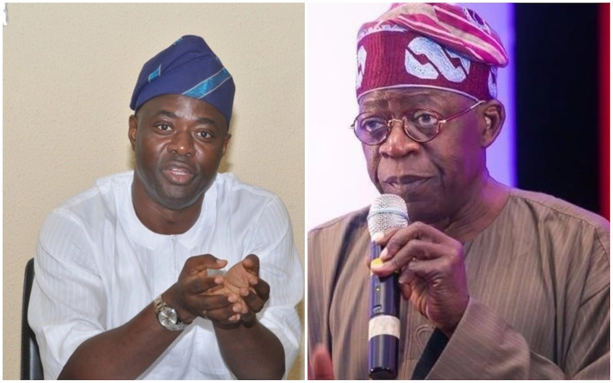 Seyi Makinde and Bola Tinubu